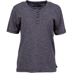 United By Blue W's Mull Stripe Henley Navy